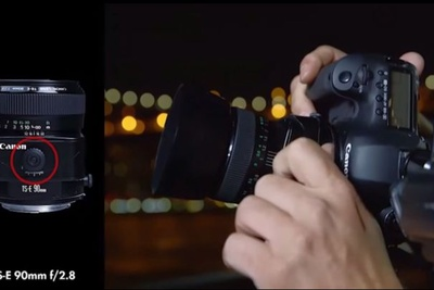 Vincent Laforet Explains How to Use a Tilt-Shift Lens
