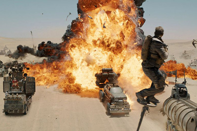 Before and After Shots From 'Mad Max: Fury Road' Reveal the Power of Postproduction