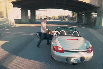 Los Angeles Filmmakers Show Us What 'Grand Theft Auto' Would Look Like in Real Life