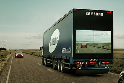Samsung Testing Prototype Truck With Live View Camera