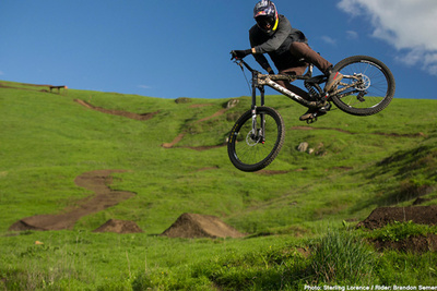 Can You Guess How This Amazing Single Shot Mountain Biking Run Was Filmed?
