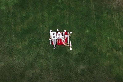 Photographer Creates Greatest Baby Announcement Video with the Help of a Drone