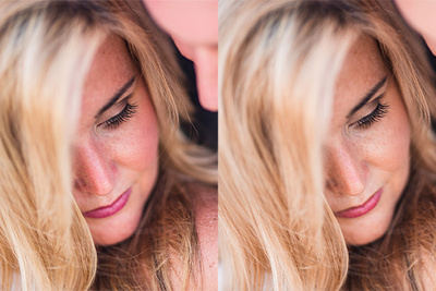 Quickly Fix Red Flushed Skin Within Lightroom