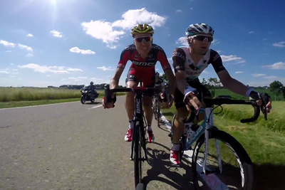 GoPros Mounted to Tour de France Bikers Show The Race in a Whole New Way