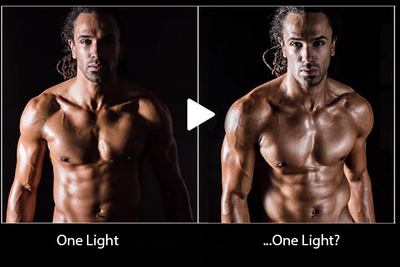 How To Create A 3 Light Setup With Only One On-Camera Flash