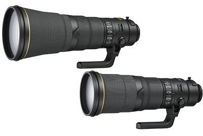 Nikon Updates Its 500mm f/4 and 600mm f/4 Super-Telephotos with New Coatings, Lighter Components, and Heftier Prices