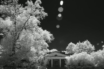 Infrared Footage Filmed With The RED Dragon Monochrome And A Drone