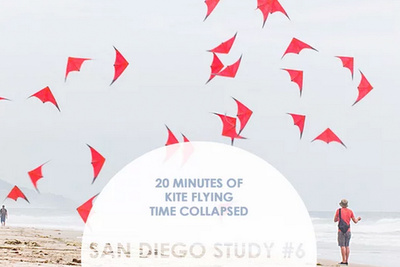 Learn How to Collapse Time: 20 Minutes of Kite Flying Compiled into a 1 Minute Video