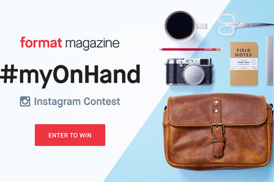 A Picture of Your Gear Could Win $6,000 in Prizes in the Format #myOnHand Instagram Contest