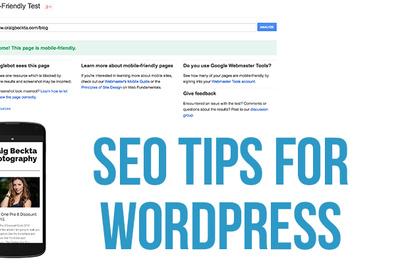 SEO Tips for Photographers Using WordPress