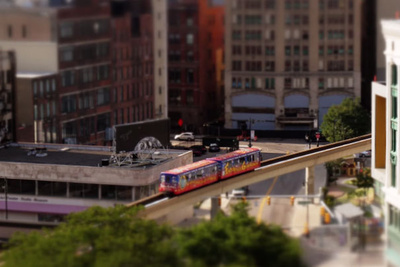 Tilt-Shift Time-Lapse Filmed from a Drone Makes Detroit Look Amazing