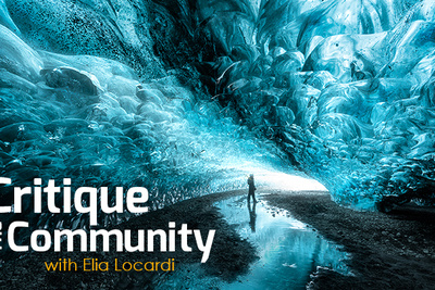 Critique the Community Episode 4:  Landscapes with Elia Locardi
