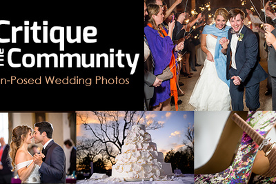 "Critique the Community: Submit Your ""Un-Posed"" Wedding Photographs Now"