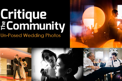 Critique the Community Episode 6a: Un-posed Wedding Photographs