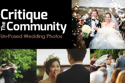 Critique the Community Episode 6b: Un-posed Wedding Photographs