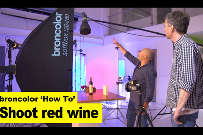 A Step by Step Guide on How to Light a Wine Bottle Product Shot