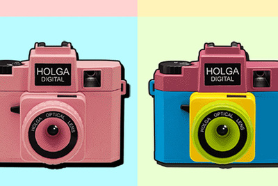 Are You Tired Of Your Pictures Looking Good? Buy The New Holga Digital Camera