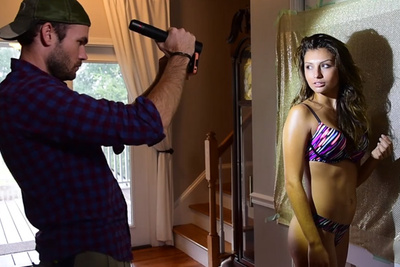 The New iPhone Fashion Shoot: Bikinis, Foam Core, and Flashlights