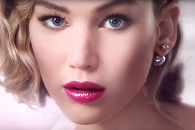 Did Photo Retouchers Photoshop Jennifer Lawrence's Face Too Much In New Dior Ad?