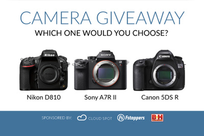 Fstoppers is Giving Away a Free Canon, Sony, or Nikon Flagship Digital Camera Worth $3900