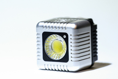 A Compact LED Light for Your GoPro and Smartphone
