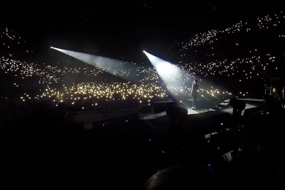 GoPro POV With Adam Elmakias While Photographing All Time Low Live at O2 Arena in London