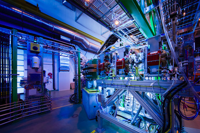 Inside CERN - Photo by Andrew Hara