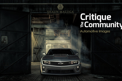 Critique the Community Episode 8: Automotive Images