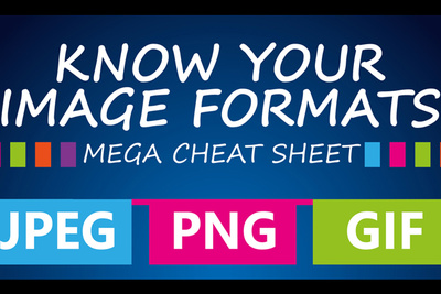 Infographic: Everything You Need to Know about JPG, PNG, GIF, TIFF and BMP File Formats