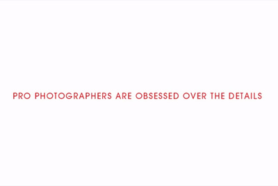 Canon Commercial Explores Photographers Obsession Over Details