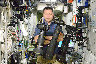 Astronauts on the International Space Station Take Some Amazing Photos with Some Amazing Gear