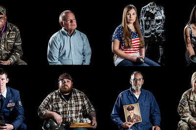 Photographer Honors American Heroes With Free Portraits of Nevada Veterans
