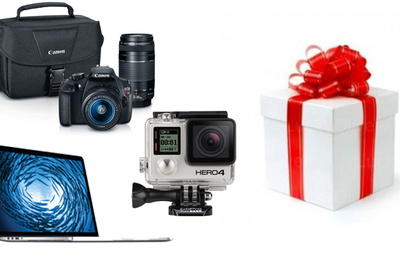 Free Next Day Shipping - Get Your Photography Gear in Time for the Holidays