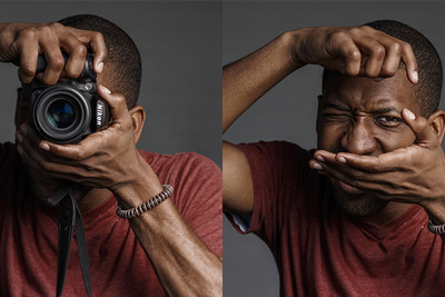 Brilliant Project Captures the Faces of Photographers Behind the Camera