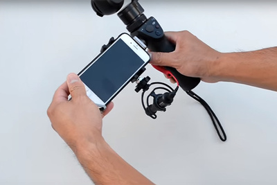 Easily Upgrade The Audio From Your DJI Osmo Gimbal