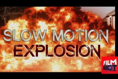 Have Fun Learning How to Create a Slow Motion Explosion Effect
