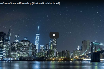 How to Create a Custom Brush and Add Stars in Photoshop
