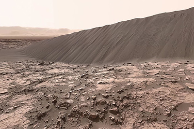 NASA Posts Awesome 360° Video from Curiosity Rover on Mars