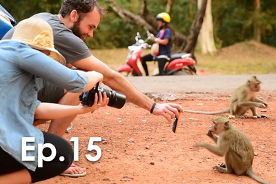 Monkey Attacks Photographer In Cambodia P.T.W. BTS Ep. 15