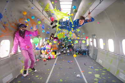 Band OK Go Releases BTS of Their Zero Gravity Music Video