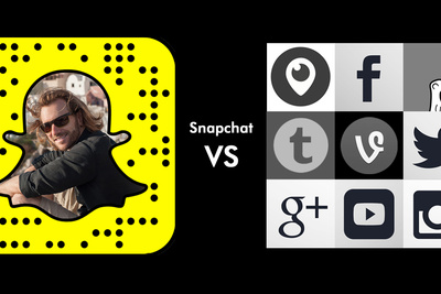 Snapchat vs Live Streaming & Social Media