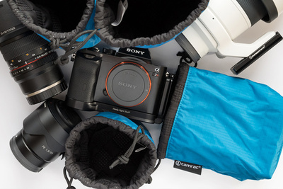 New Tamrac Goblin Pouches Give Clean, Basic Padded Protection to Camera Bodies and Lenses