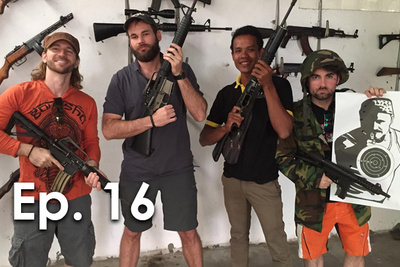 Fstoppers Visits The Cambodian Gun Range P.T.W. BTS Ep. 16
