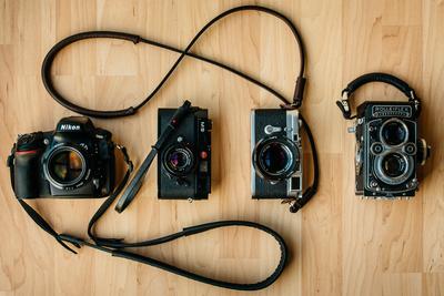 Living With Deadcameras and Their Custom Handmade Camera Straps