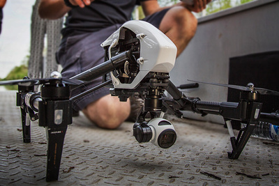 Using Drone Photography for TV News Holds Doubts