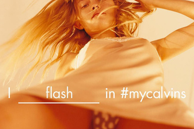 Calvin Klein Attacked For Upskirt Photo, Creates Successful Ad