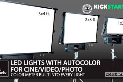 Check Out the Kickstarter Campaign for These Award-Winning, Intelligent LED Panels