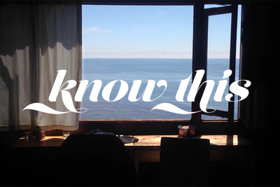 'Know This' - An Artist's Tribute to Travel