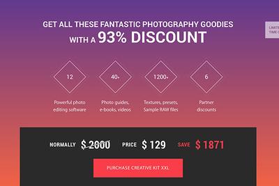 Save 93% on MacPhun's Creative Kit XXL Bundle
