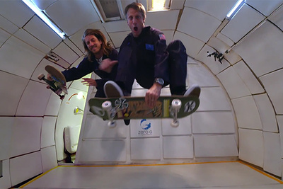Sony and Tony Hawk Create a Zero Gravity Skateboarding Shoot